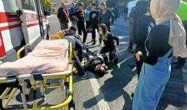 Ağır Yaralandı, Helikopterle Malatya'ya Gönderildi