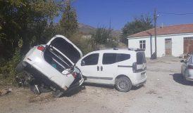 Elazığ- Malatya Yolunda Kaza.. 4 Yaralı