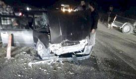 Çarpışan Araçlarda 2 Yaralı