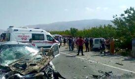 Elazığ Yolundaki Kazada 5 Ölü, 3 Yaralı