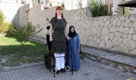 En Uzun Boylu Kadın Rümeysa, Guinness'te