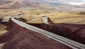 Kara Sınırlarının Yüzde 34'üne Duvar