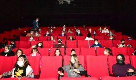 Vali, 'Akif' Filmini Öğrencilerle Seyretti