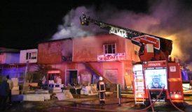 Küçük Sanayi Sitesi'ndeki Atölyede Yangın